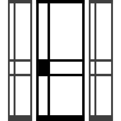 DeurKoning-zijkant-beide-01